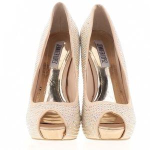 Jennifer Lopez Pee Toe Heels